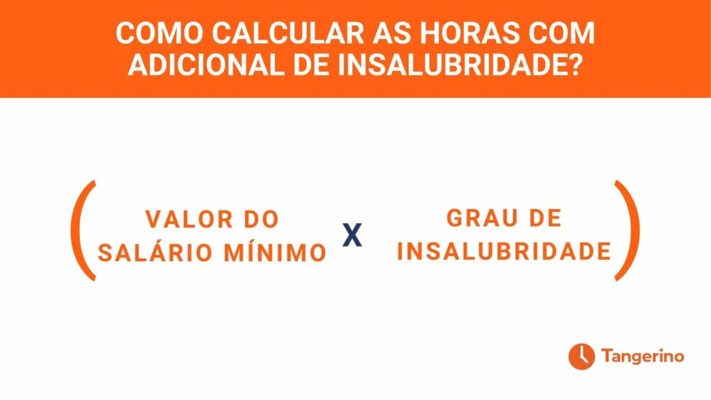 Como calcular as horas com adicional de insalubridade
