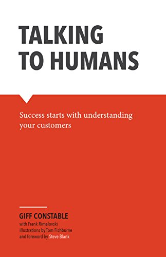 Capa do livro Talking to Humans