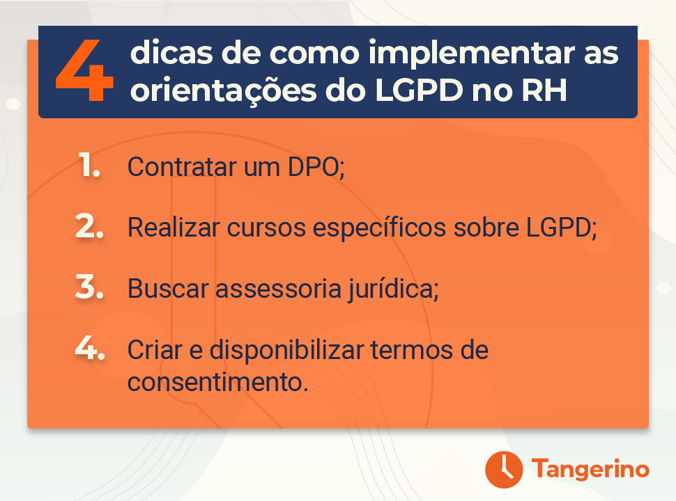 Como implementar LGPD no RH